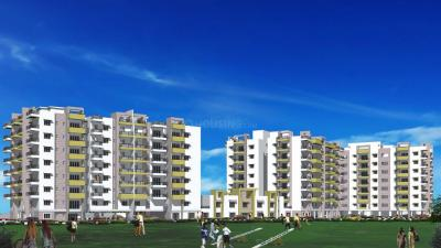 Gallery Cover Image of 1178 Sq.ft 2 BHK Apartment for rent in Reliance Paradise, Gachibowli for 22000