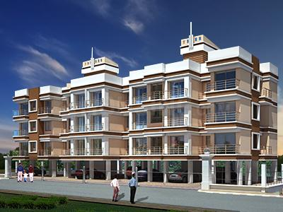 Gallery Cover Image of 540 Sq.ft 1 BHK Apartment for rent in Tivoli Prathamesh, Kewale for 4500