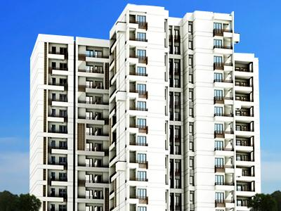 Gallery Cover Image of 667 Sq.ft 1 RK Apartment for rent in Jaypee Klassic Heights, Sector 133 for 12000