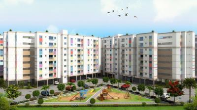 Gallery Cover Image of 633 Sq.ft 2 BHK Apartment for rent in Temple Waves, Thandalam for 7500