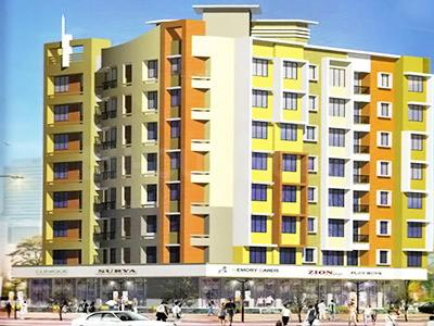Gallery Cover Image of 875 Sq.ft 2 BHK Apartment for buy in Surya Goyal Arcade, Mira Road East for 7800000