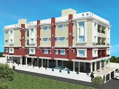 Gallery Cover Image of 600 Sq.ft 1 BHK Apartment for rent in Rose Garden, Thakurpukur for 5000