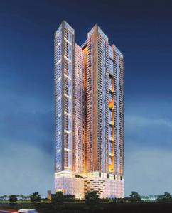 Gallery Cover Image of 684 Sq.ft 1 BHK Apartment for buy in Runwal Pinnacle, Mulund West for 9900000