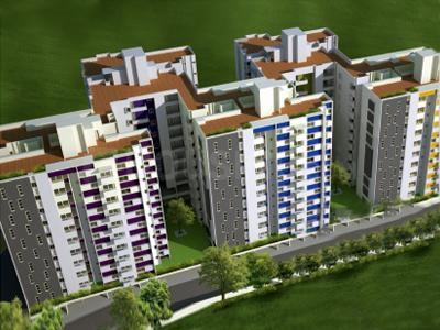 Gallery Cover Image of 1100 Sq.ft 2 BHK Apartment for buy in DSR Rainbow Heights, HSR Layout for 8500000