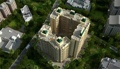 Gallery Cover Image of 729 Sq.ft 1 BHK Apartment for buy in Royal Garden Phase I, Kalyan East for 5300000