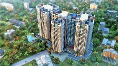 Gallery Cover Image of 1715 Sq.ft 3 BHK Apartment for rent in Sonam Indraprasth, Mira Road East for 40000
