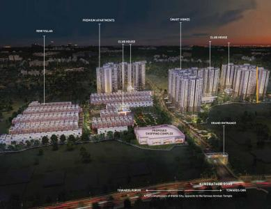 Gallery Cover Image of 1157 Sq.ft 3 BHK Apartment for buy in Shriram Divine City, Mangadu for 5705000