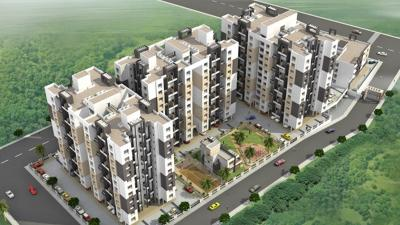 Gallery Cover Image of 860 Sq.ft 2 BHK Apartment for rent in A P Akshay Galaxy Building B And C, Yewalewadi for 14000
