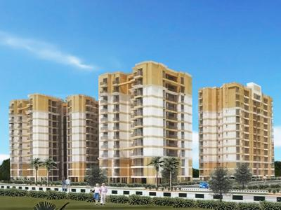 Gallery Cover Image of 810 Sq.ft 1 BHK Apartment for buy in Santushti Enclave, Golf City for 3500000