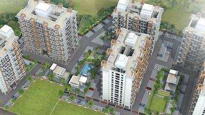 Gallery Cover Image of 843 Sq.ft 2 BHK Apartment for rent in Calyx Prakriti C Navyangan, Ambarwet for 10000