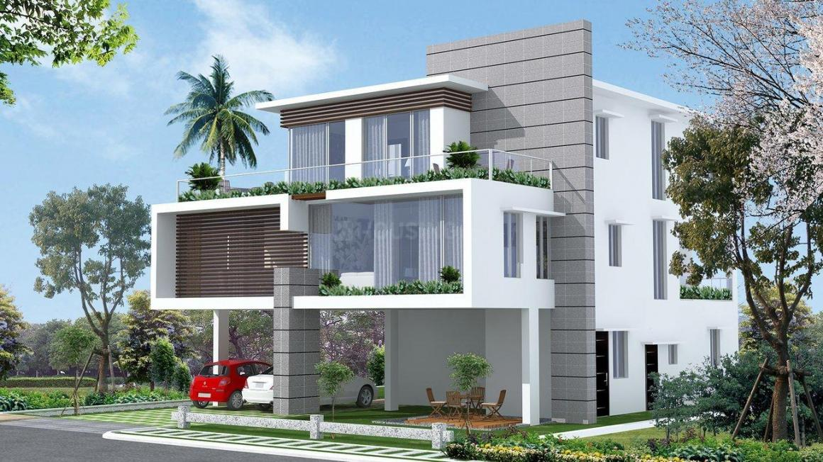 Elegant River Edge Villas In Manchirevula West Hyderabad