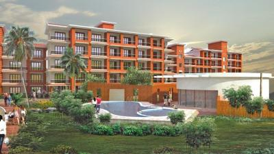 Gallery Cover Image of 350 Sq.ft 1 RK Apartment for buy in Four Perola, Bainguinim for 2500000