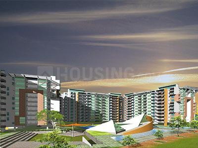Gallery Cover Image of 1850 Sq.ft 3 BHK Apartment for rent in Alpine Pyramid, Sahakara Nagar for 33000