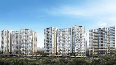Gallery Cover Image of 2400 Sq.ft 4 BHK Apartment for rent in Olympia Opaline Sequel, Semmancheri for 7500