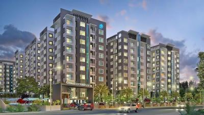 Gallery Cover Image of 200 Sq.ft 1 BHK Apartment for rent in Disha Central Park, Balagere for 30000