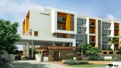 Gallery Cover Image of 720 Sq.ft 1 BHK Apartment for buy in Casagrand Royce, Hoodi for 7000000