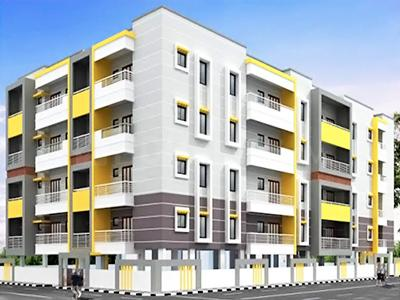 Gallery Cover Image of 1410 Sq.ft 3 BHK Apartment for rent in Dhanush Grands Apartment, Hulimavu for 15000