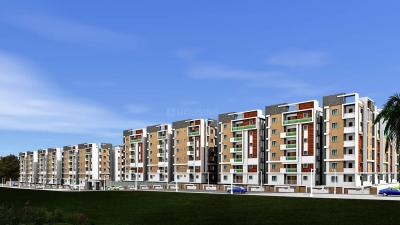Gallery Cover Image of 1040 Sq.ft 2 BHK Apartment for rent in Luxor Apartments, Gachibowli for 25000