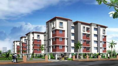 Gallery Cover Image of 550 Sq.ft 1 BHK Apartment for rent in Siddha Town, Rajarhat for 7000
