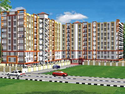 Gallery Cover Image of 1900 Sq.ft 4 BHK Apartment for buy in Krishna Dwarika Apartment, Manva Kheda for 5320000
