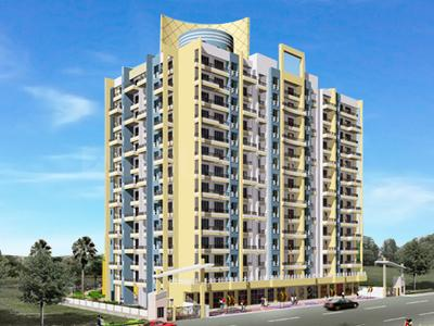 Gallery Cover Image of 600 Sq.ft 1 BHK Apartment for rent in Mehta Amrut Heaven, Kalyan West for 10000