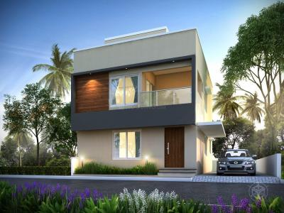 Gallery Cover Image of 1376 Sq.ft 3 BHK Villa for buy in Alliance Humming Gardens Villas, Kazhipattur for 8800000