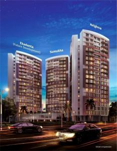 Gallery Cover Image of 1080 Sq.ft 2 BHK Apartment for buy in Tridhaatu Morya, Chembur for 18000000