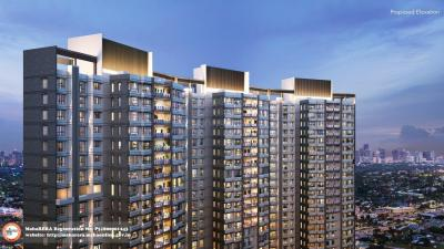 Gallery Cover Image of 1050 Sq.ft 3 BHK Apartment for rent in Wadhwa Atmosphere Phase 1, Mulund West for 50000