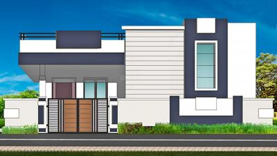 Gallery Cover Image of 1500 Sq.ft 1 RK Independent Floor for buy in A R Brindhavan Teachers Colony, Ramachandra Puram for 555855