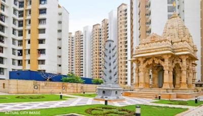 Gallery Cover Image of 645 Sq.ft 1 BHK Apartment for rent in Lodha Casa Rio Gold, Palava Phase 1 Nilje Gaon for 9000