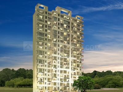 Gallery Cover Image of 620 Sq.ft 1 BHK Apartment for rent in Heights, Goregaon West for 24999
