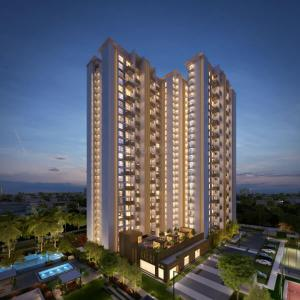 Gallery Cover Image of 2370 Sq.ft 3 BHK Apartment for buy in Mahindra Windchimes Phase 2, Arakere for 22500000