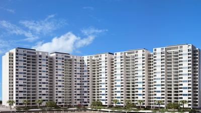 Gallery Cover Image of 650 Sq.ft 1 BHK Apartment for rent in Cosmos Classique, Thane West for 18000