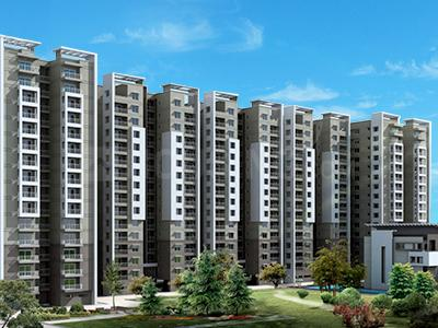 Gallery Cover Image of 1850 Sq.ft 3 BHK Apartment for rent in Habitech, Whitefield for 34500