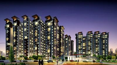 Gallery Cover Image of 2100 Sq.ft 3 BHK Apartment for rent in Rajapushpa Atria, Kokapet for 34000