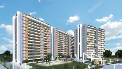 Gallery Cover Image of 2032 Sq.ft 3 BHK Apartment for buy in BCM Park, Lasudia Mori for 7500000