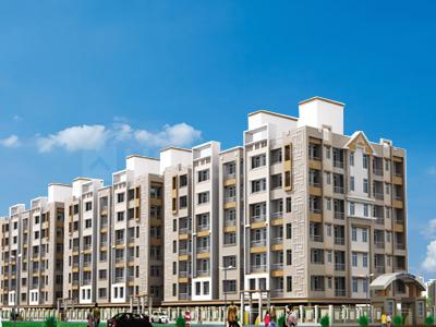 Gallery Cover Image of 1385 Sq.ft 3 BHK Apartment for buy in Majestic Janki City, Sri Krishna Puri for 6232500