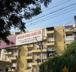 Gallery Cover Image of 1700 Sq.ft 3 BHK Apartment for rent in Anil Suri Group Sansad Vihar Apartment, Sector 3 Dwarka for 25000
