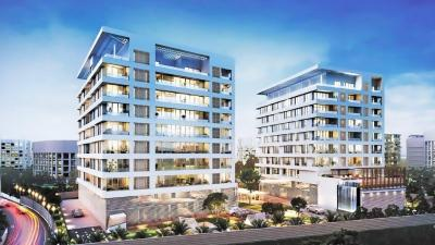 Gallery Cover Image of 3900 Sq.ft 4 BHK Apartment for rent in Godrej Platinum, Hebbal Kempapura for 90000