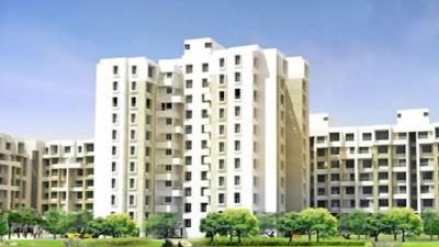 Gallery Cover Image of 900 Sq.ft 2 BHK Apartment for rent in Darode Serene County, Nanded for 12000
