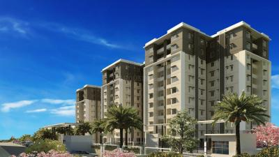 Gallery Cover Image of 605 Sq.ft 1 BHK Apartment for rent in Provident The Tree, Gollarapalya Hosahalli for 12000