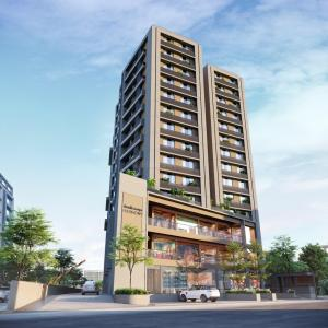 Gallery Cover Image of 2025 Sq.ft 3 BHK Apartment for buy in Shivalik Sharda Harmony, Ambawadi for 16500000