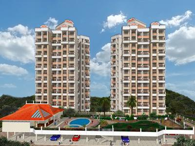 Gallery Cover Image of 1400 Sq.ft 3 BHK Apartment for buy in Prateek Gems, Kamothe for 13000000