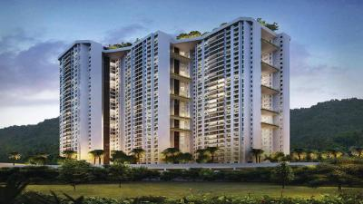 Gallery Cover Image of 1300 Sq.ft 3 BHK Apartment for rent in T Bhimjyani The Verraton, Thane West for 34000