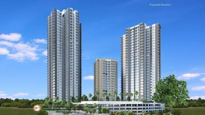 Gallery Cover Image of 1500 Sq.ft 3 BHK Apartment for rent in Wadhwa Anmol Fortune , Goregaon West for 63000