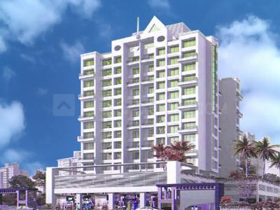 Gallery Cover Image of 1130 Sq.ft 2 BHK Apartment for rent in Rattan Icon, Seawoods for 60000