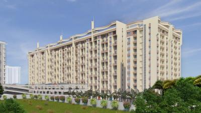 Gallery Cover Image of 940 Sq.ft 2 BHK Apartment for buy in Goel Ganga Ganga Amber II, Tathawade for 6200000