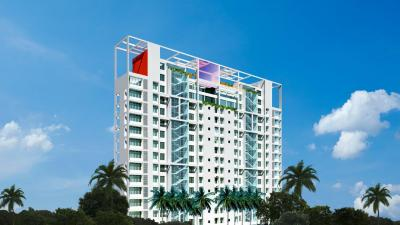 Gallery Cover Image of 660 Sq.ft 1 BHK Apartment for buy in Haware Estate, Thane West for 5000000