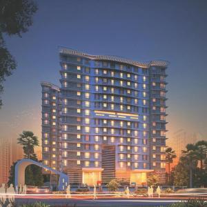 Gallery Cover Image of 650 Sq.ft 1 BHK Apartment for buy in Vardhman Grandeur, Andheri West for 14000000