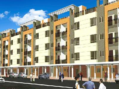 Gallery Cover Image of 850 Sq.ft 2 BHK Apartment for buy in Super City, Talawali Chanda for 2000000